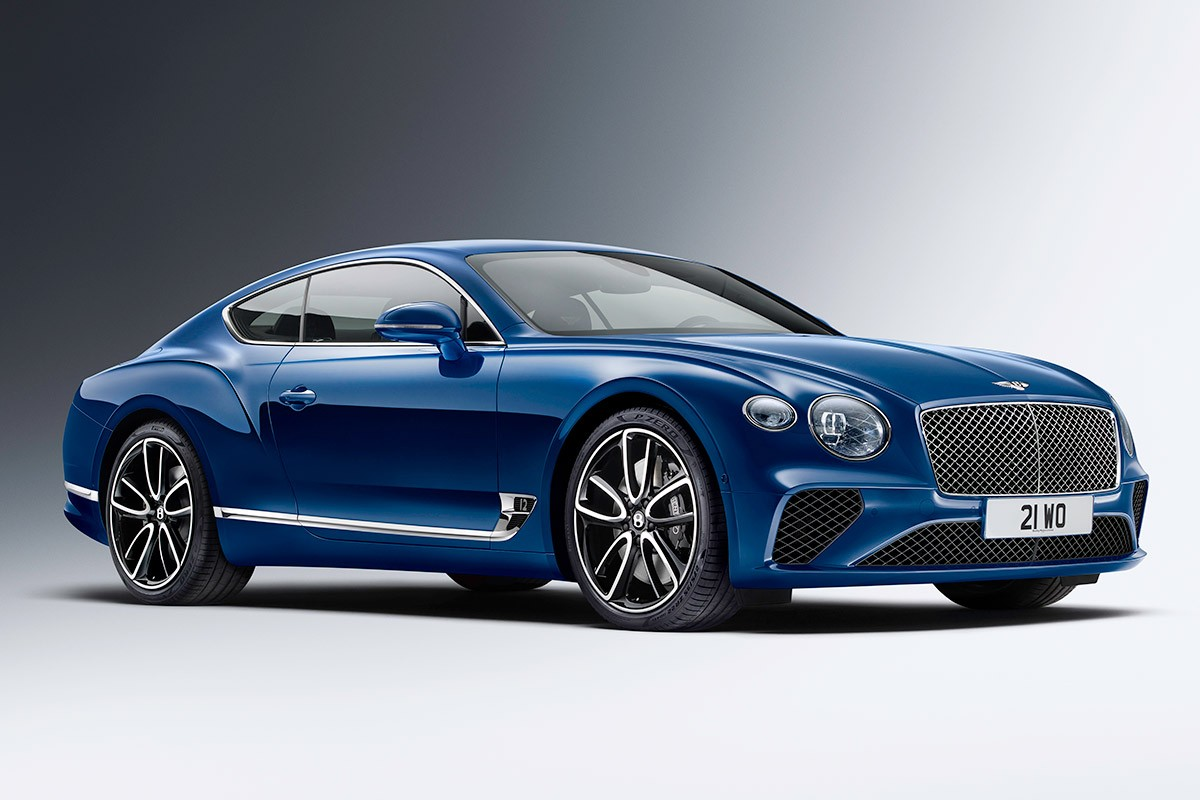 Bentley Continental GT 2018 сбоку