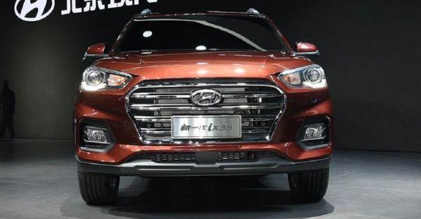 Hyundai ix35 2017 - 2018 фото вид спереди