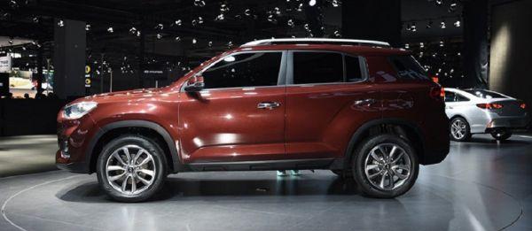 Hyundai ix35 2017 - 2018 фото вид сбоку