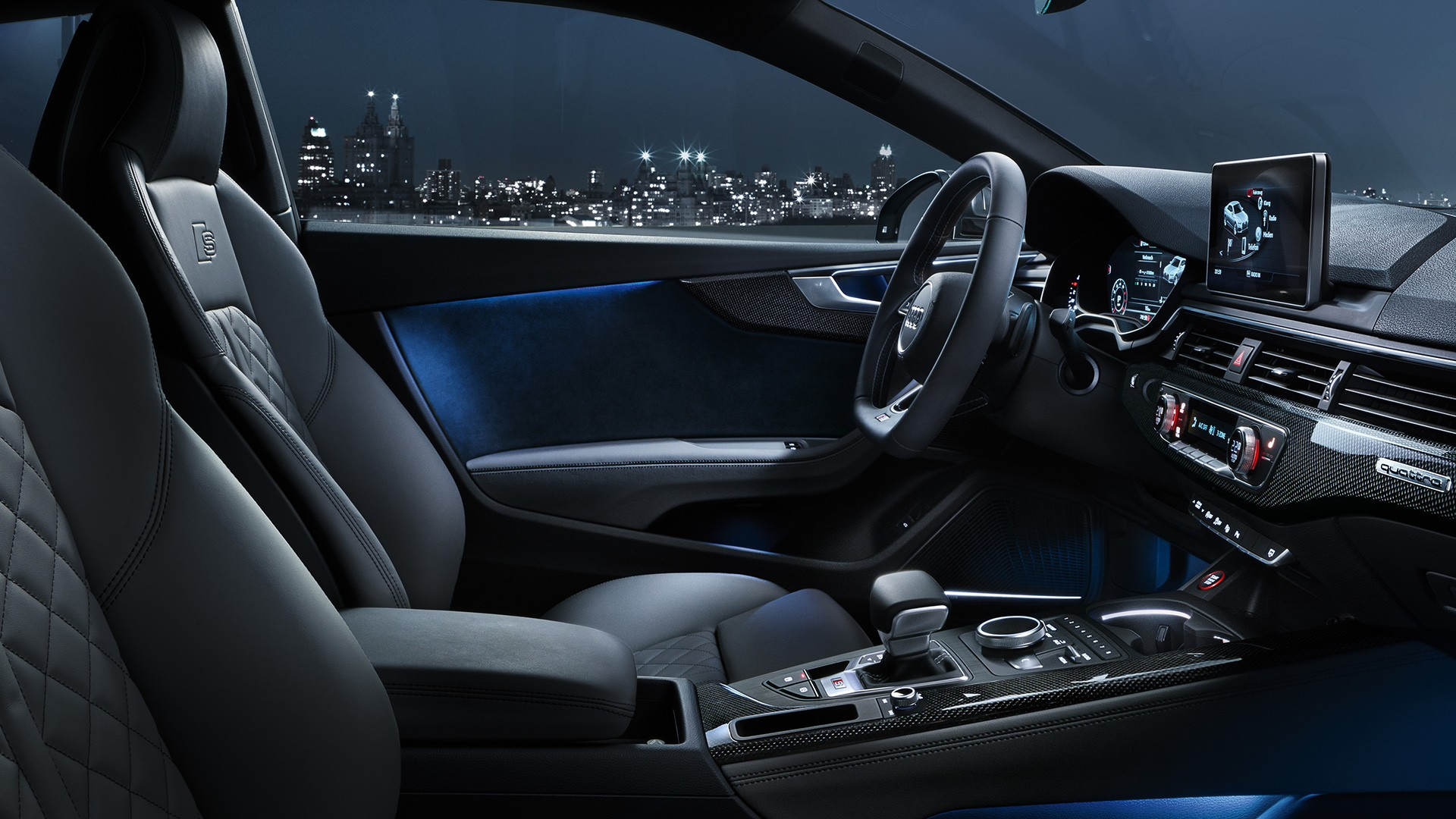 Audi RS5 салон