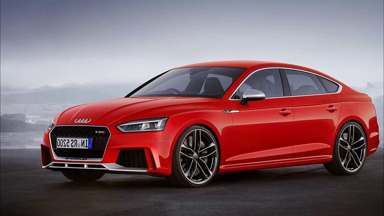 Audi RS5 вид спереди