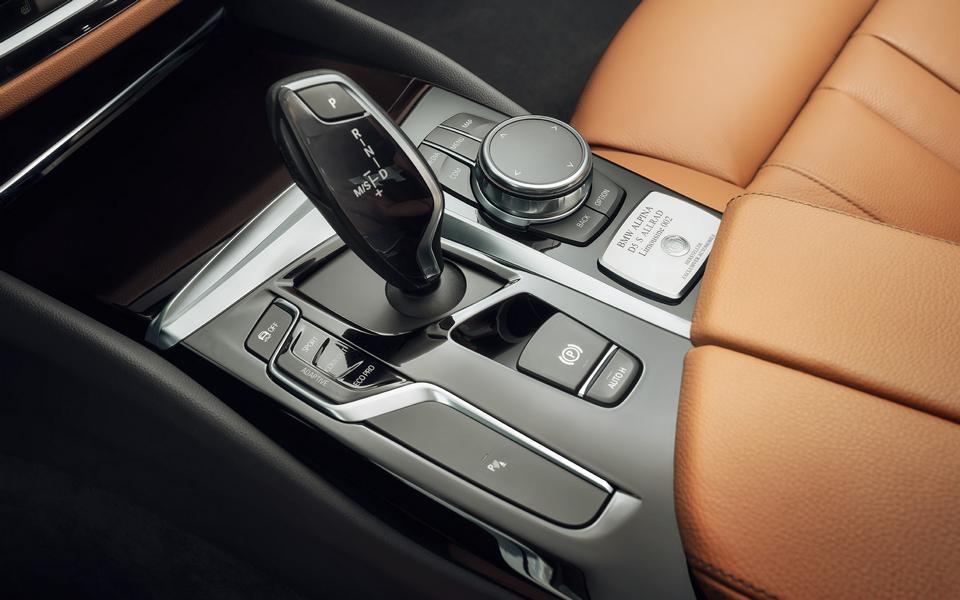 BMW Alpina D5 S кпп