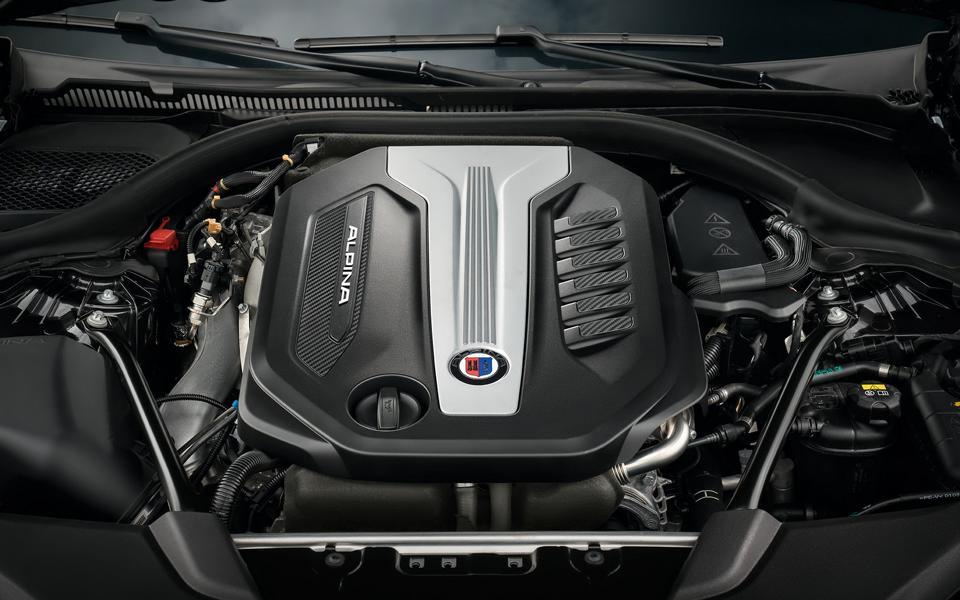 BMW Alpina D5 S мотор