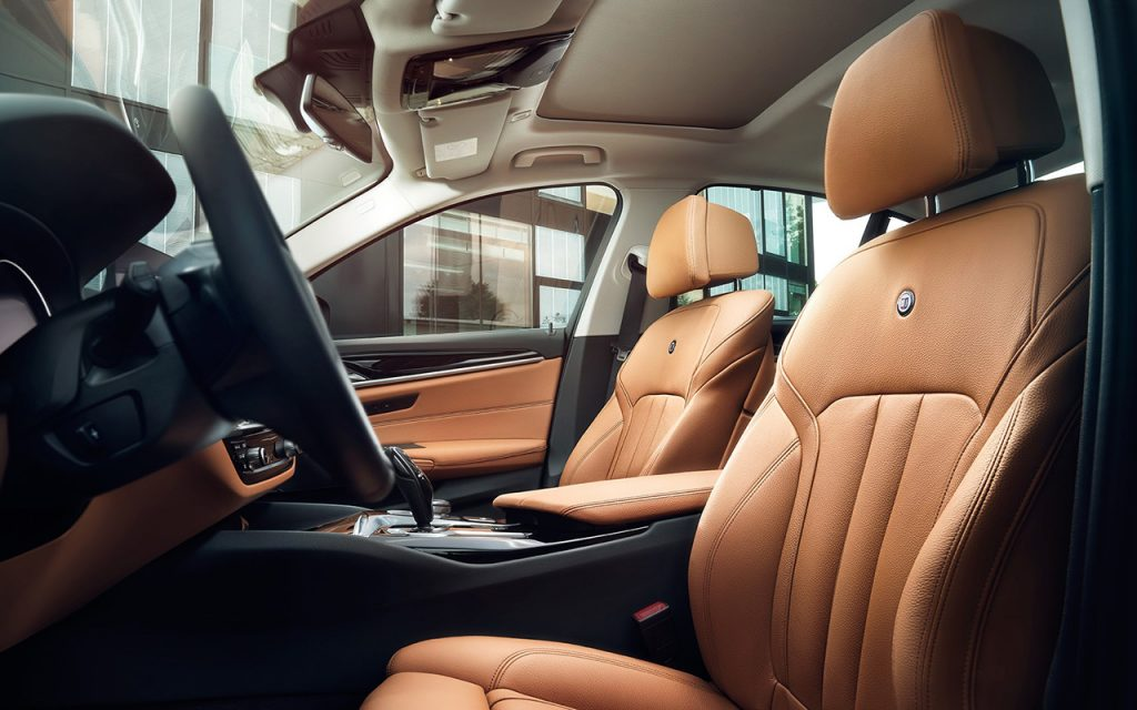 BMW Alpina D5 S салон
