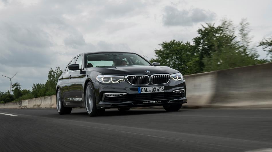 BMW Alpina D5 S вид спереди