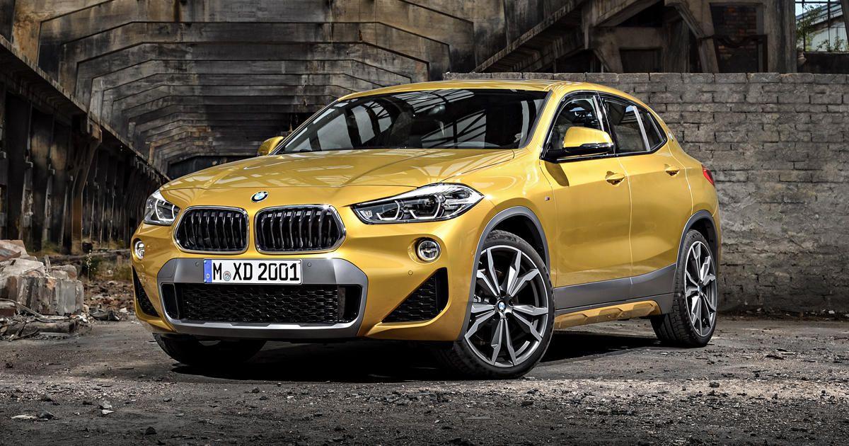 BMW Х2 спереди
