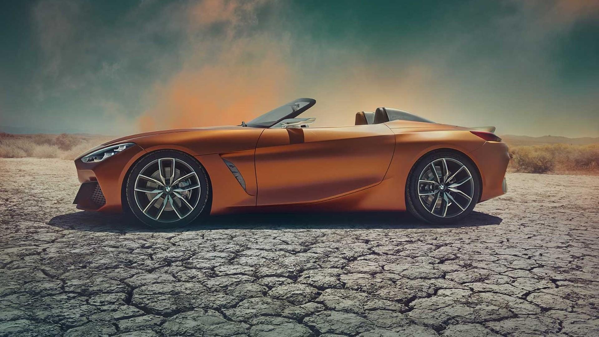 BMW Z4 Concept сбоку