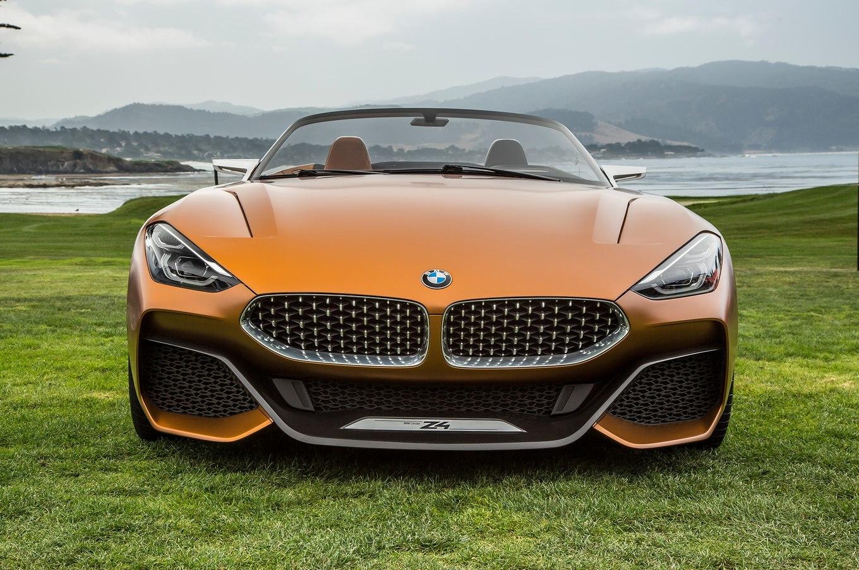 BMW Z4 Concept спереди
