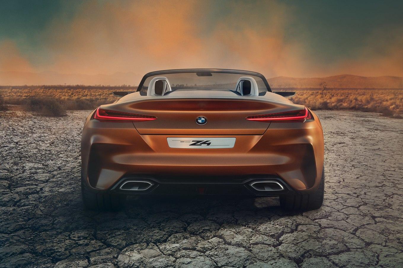 BMW Z4 Concept сзади
