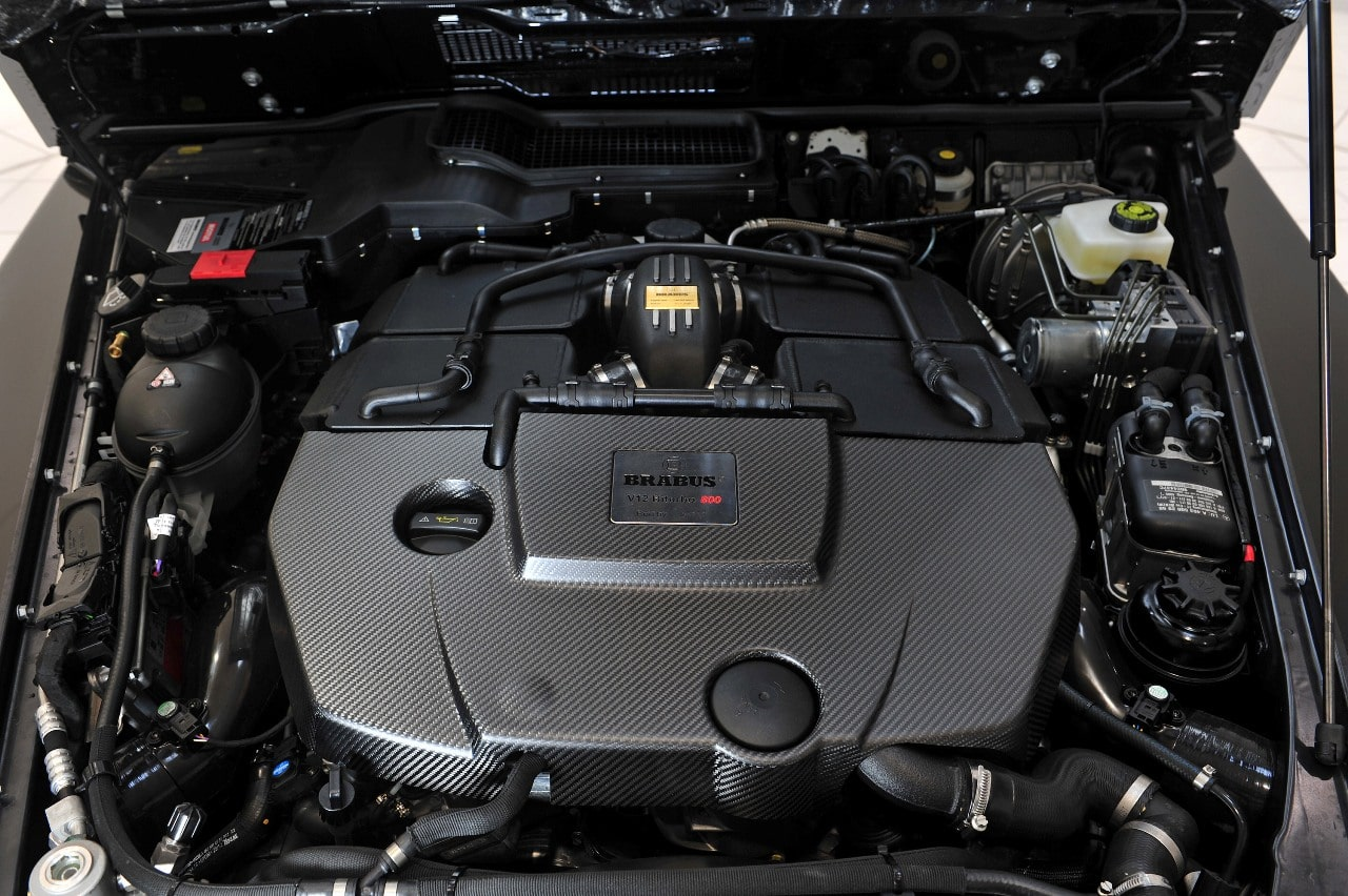 Brabus 900 G 65 AMG мотор