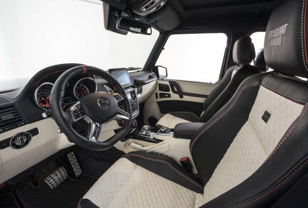 Brabus 900 G 65 AMG салон