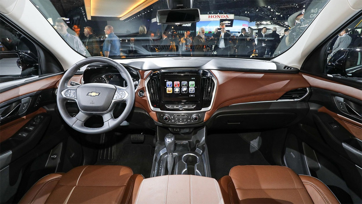 Chevrolet Traverse 2017 салон
