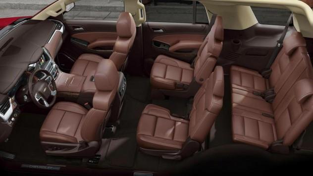Chevrolet Traverse 2017 вид салон