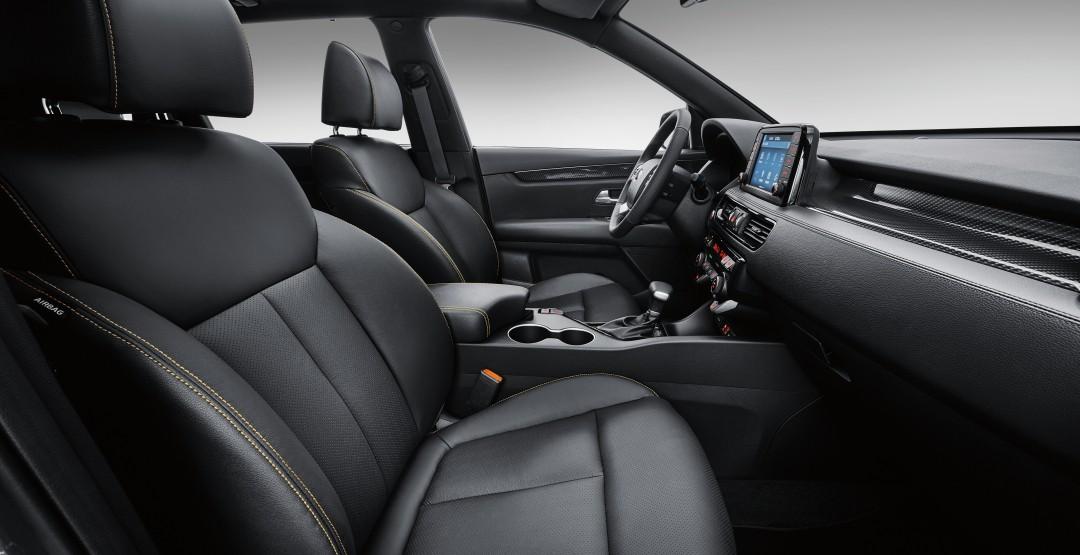 Kia KX7 передние сидения