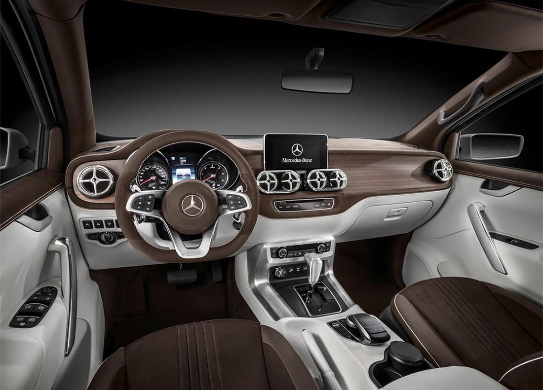 Mercedes-Benz X-class салон