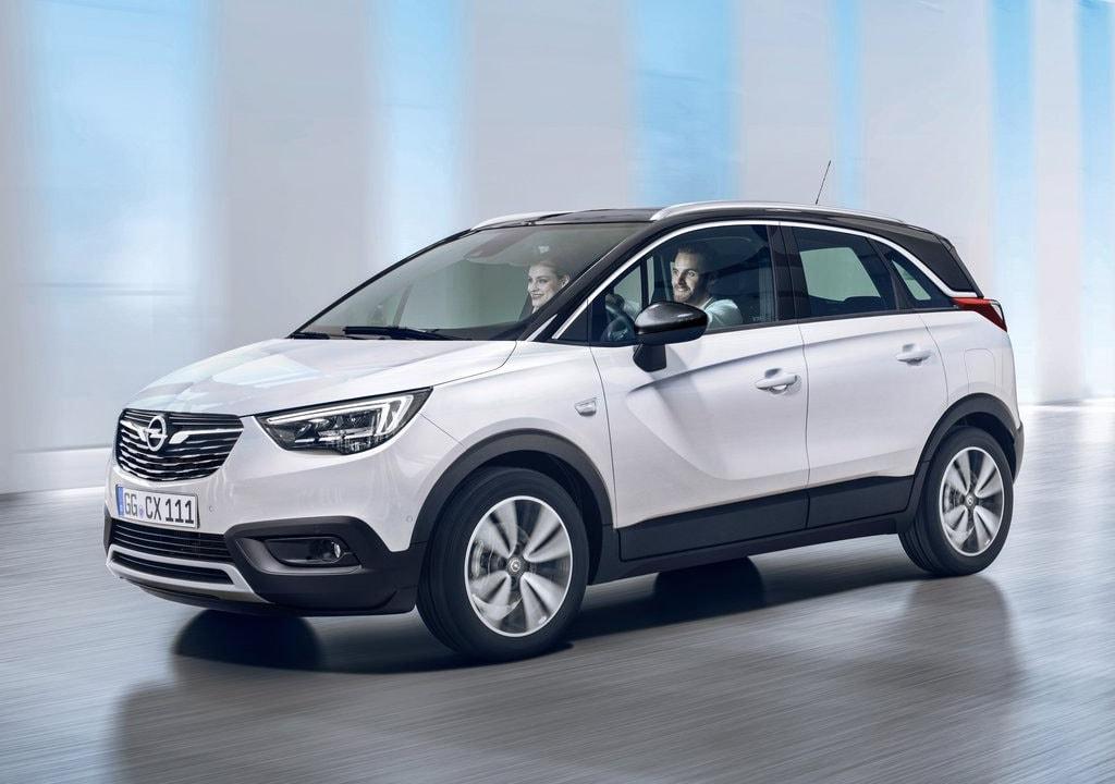 Opel Crossland X спереди