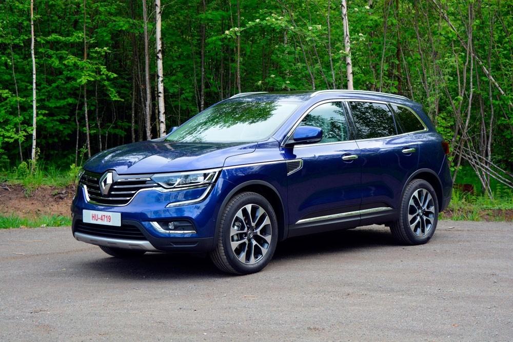 Renault Koleos 2018 фото спереди