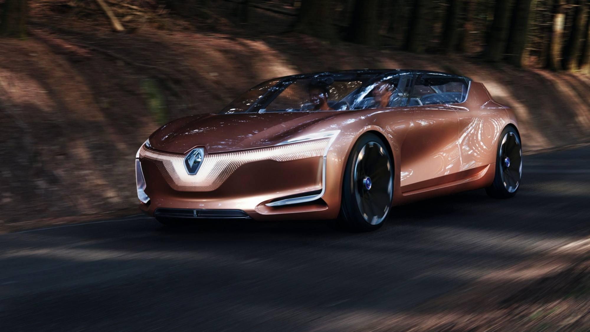 Renault Symbioz concept фото спереди