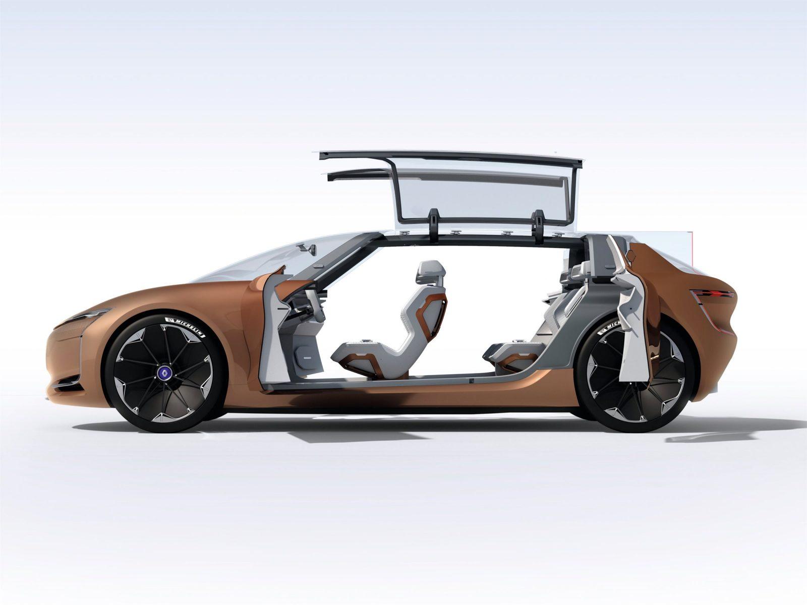 Renault Symbioz concept салон