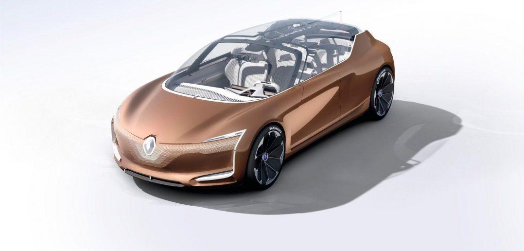 Renault Symbioz concept спереди
