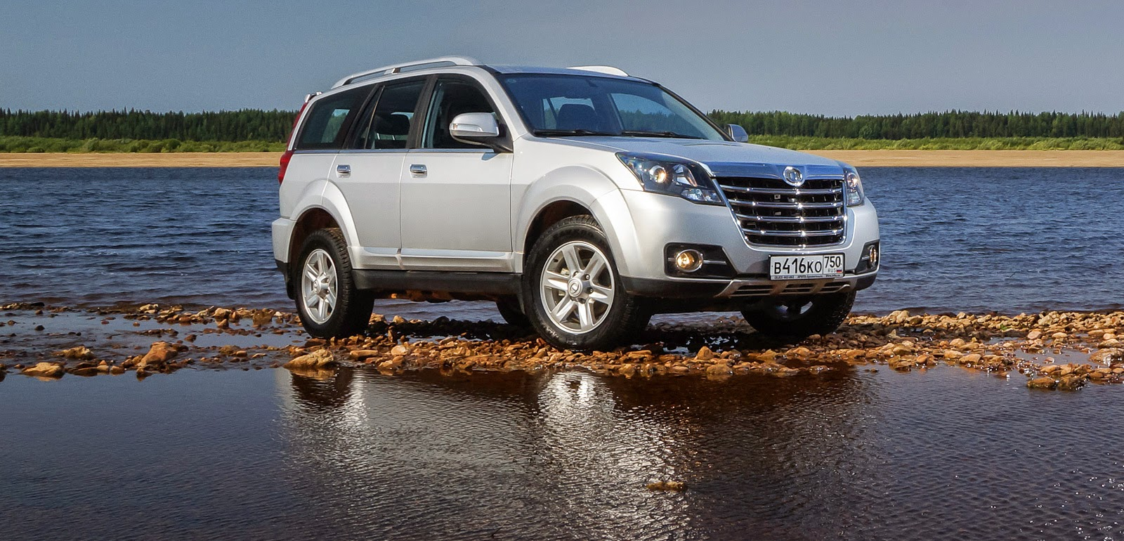 Great Wall Hover H3 спереди