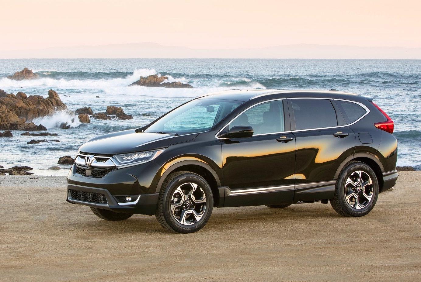 Honda CR-V 2017 сбоку