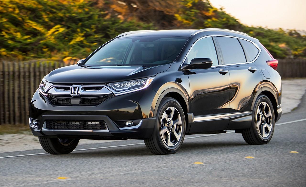 Honda CR-V 2017 спереди