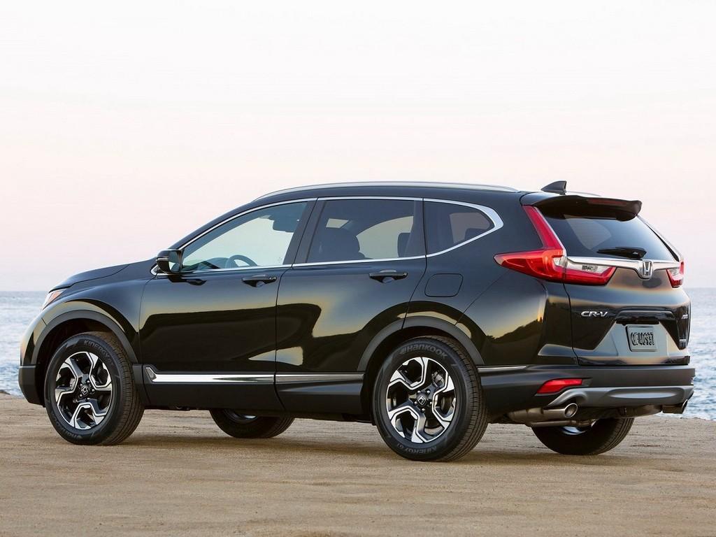 Honda CR-V 2017 вид сзади