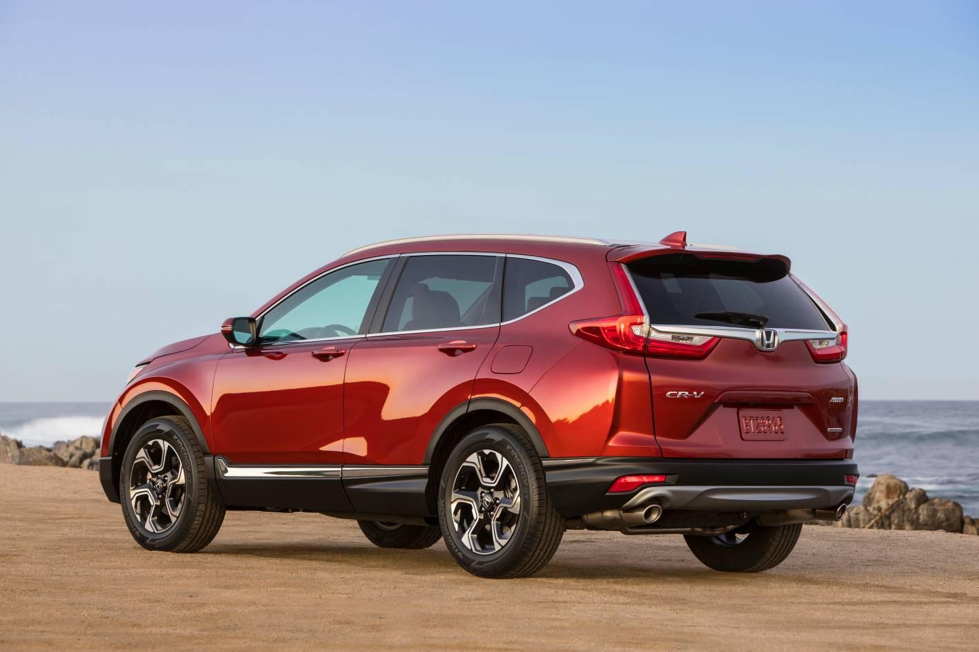 Honda CR-V вид сзади