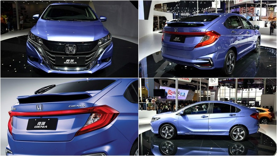 Honda Gienia общий вид