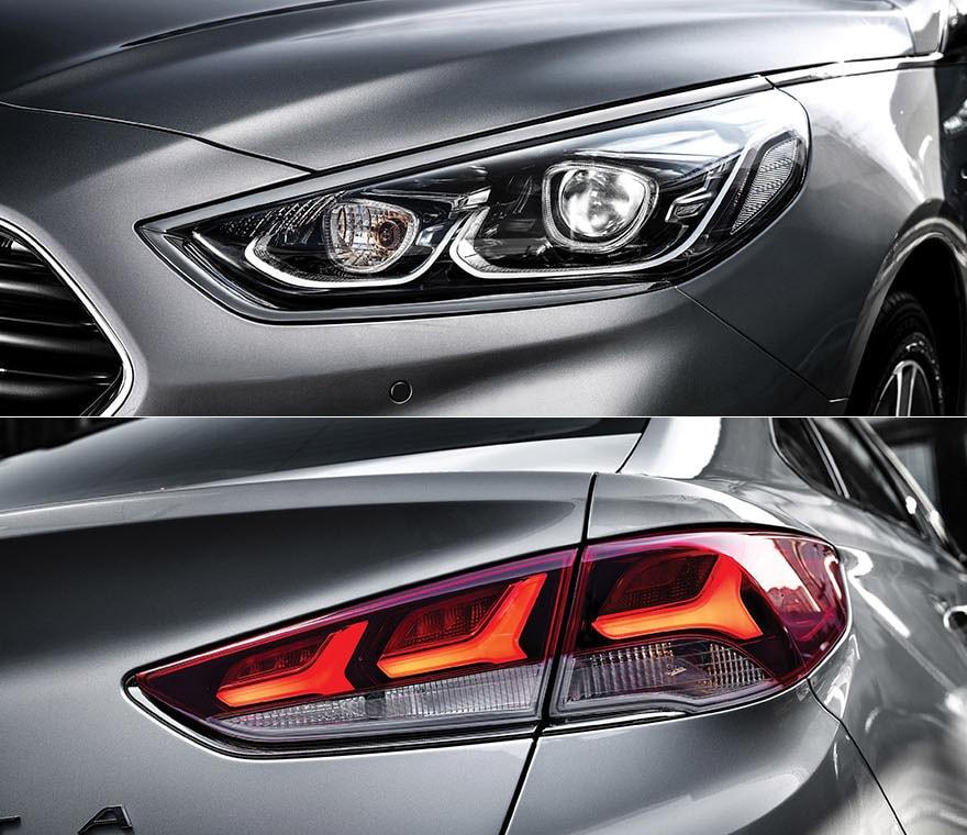 Hyundai Sonata детали козова