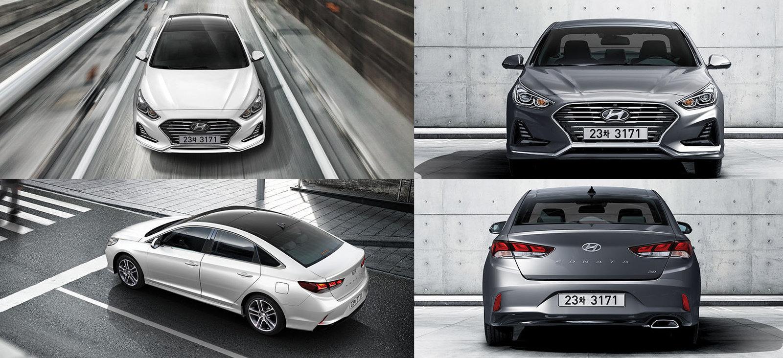 Hyundai Sonata общий вид