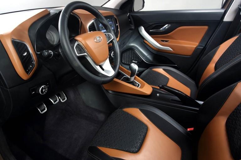 Lada Xray передние сидения