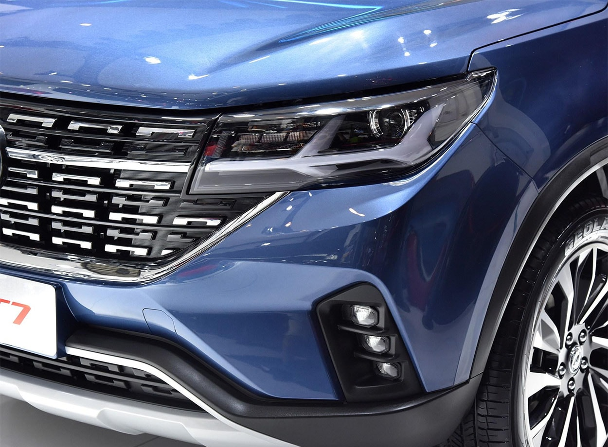 Dongfeng T7 фары