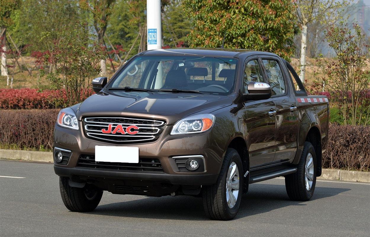 JAC T6 спереди