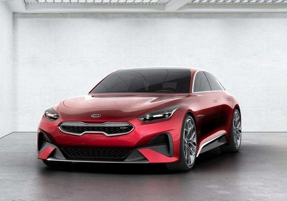 Kia Proceed Concept фото спереди