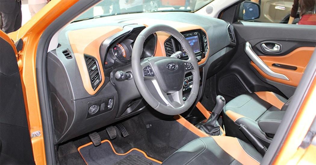 Lada Xray Cross передние сидения