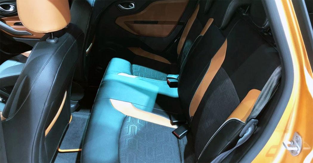 Lada Xray Cross задние сидения