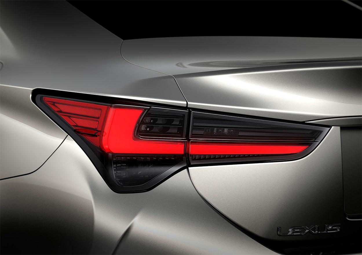 Lexus RC детали кузова