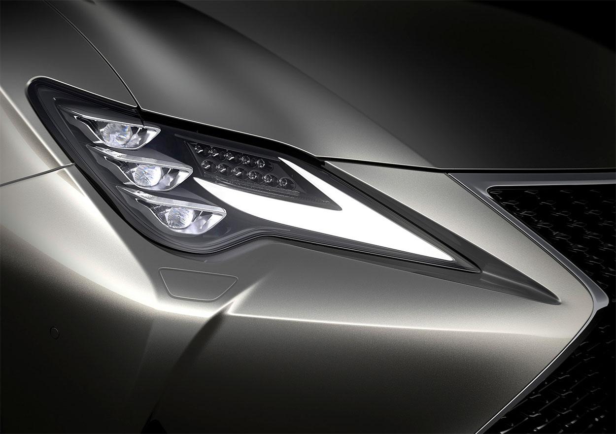 Lexus RC фары