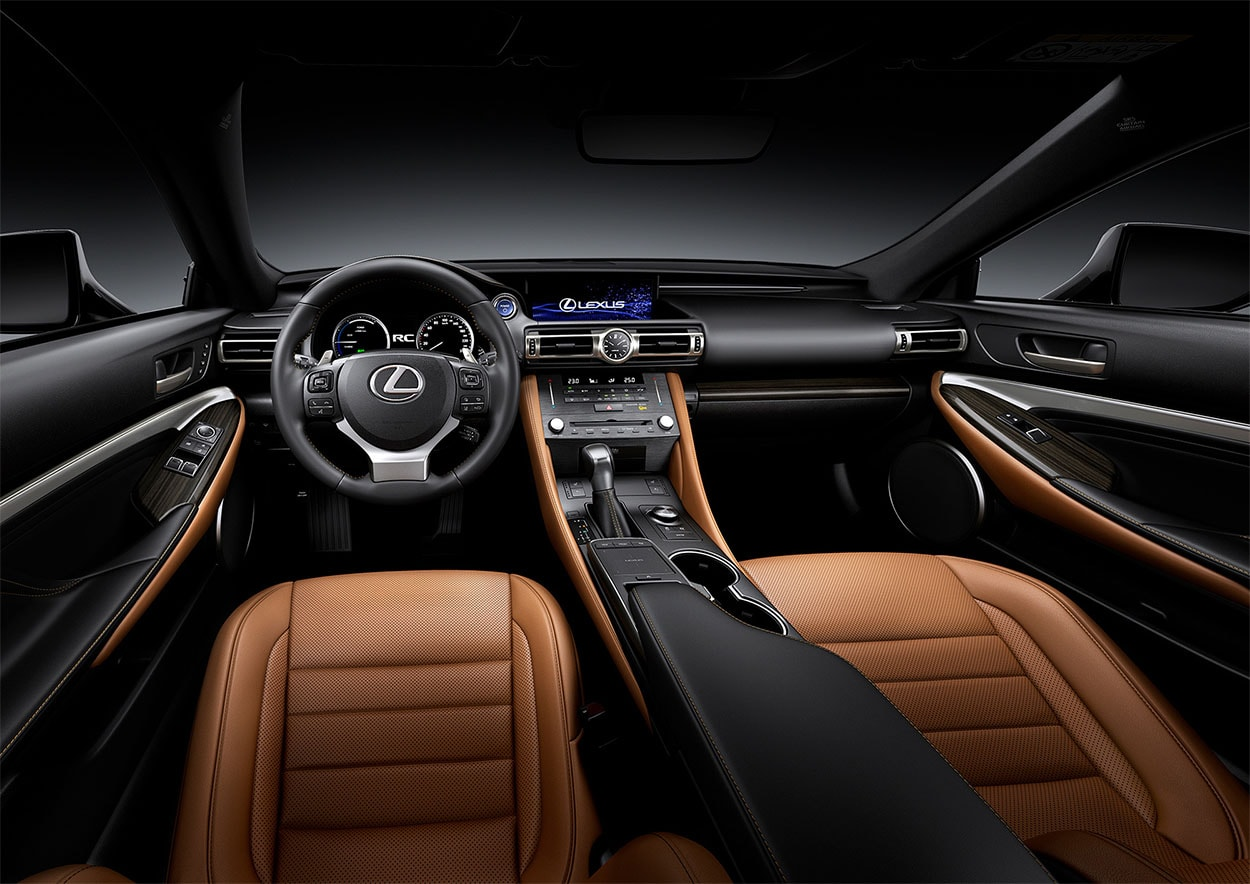 Lexus RC салон