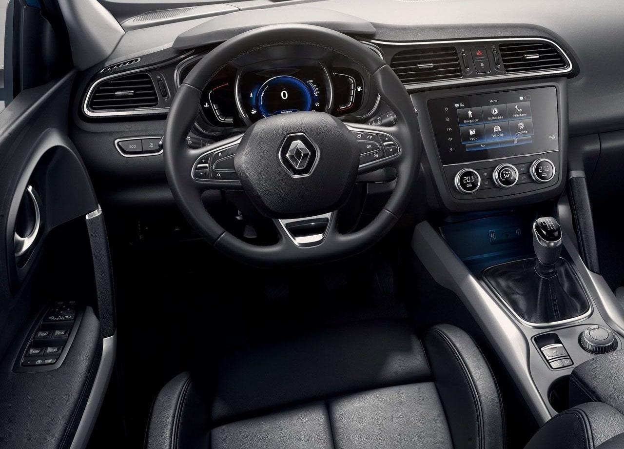 Renault Kadjar салон