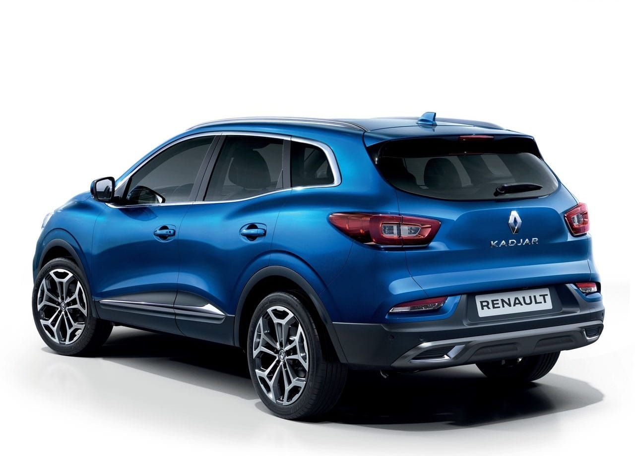 Renault Kadjar сзади