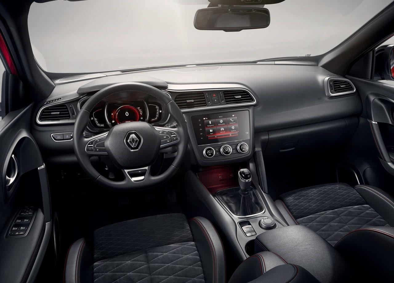 Renault Kadjar варианты салона