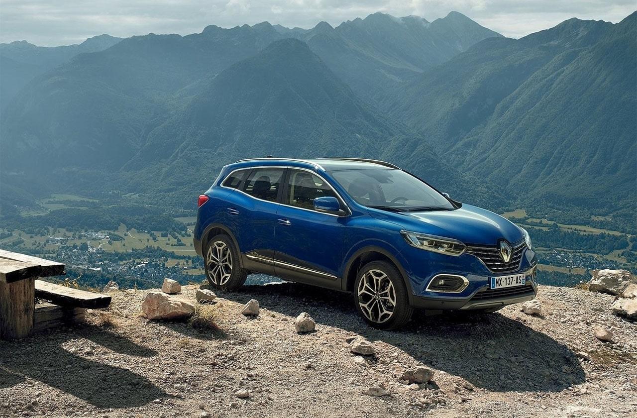 Renault Kadjar вид сбоку
