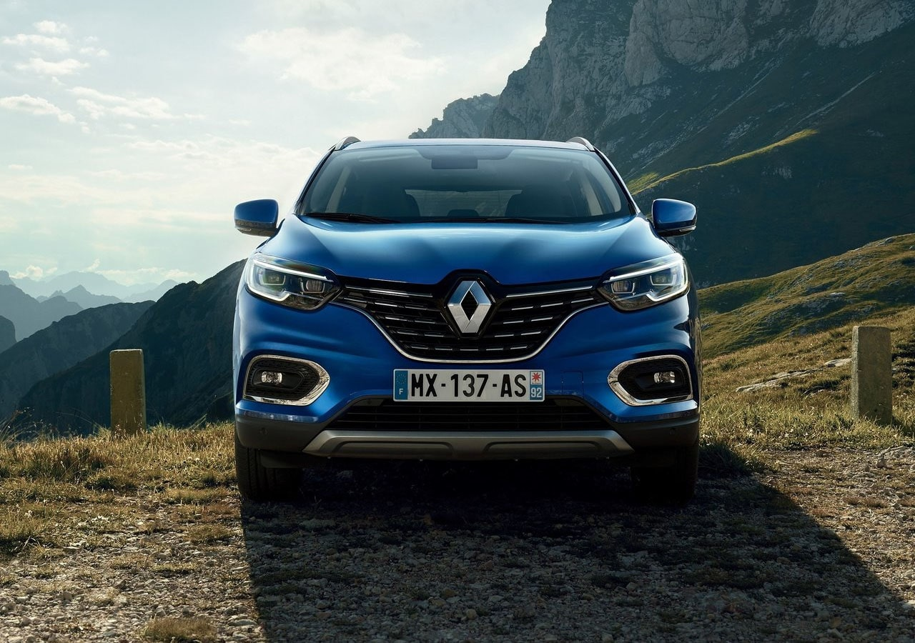 Renault Kadjar вид спереди
