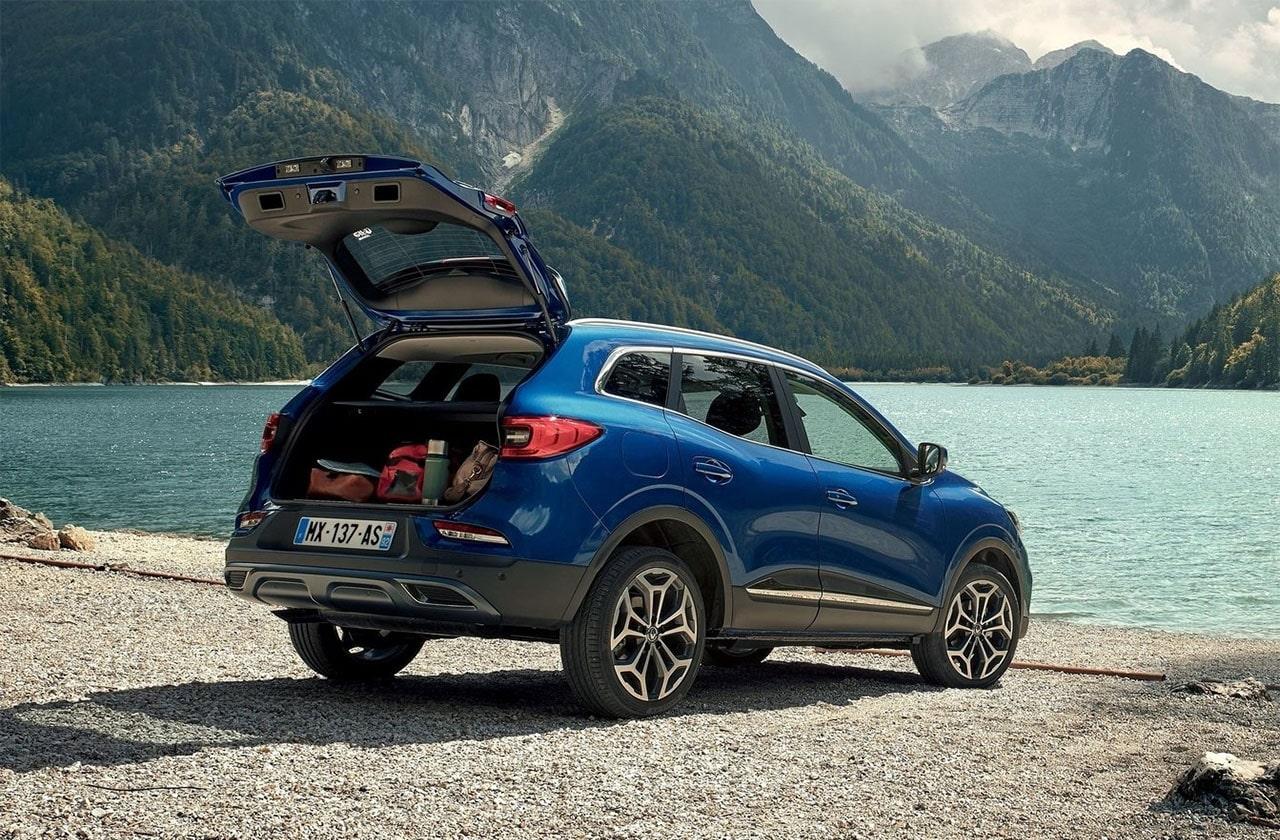 Renault Kadjar вид сзади