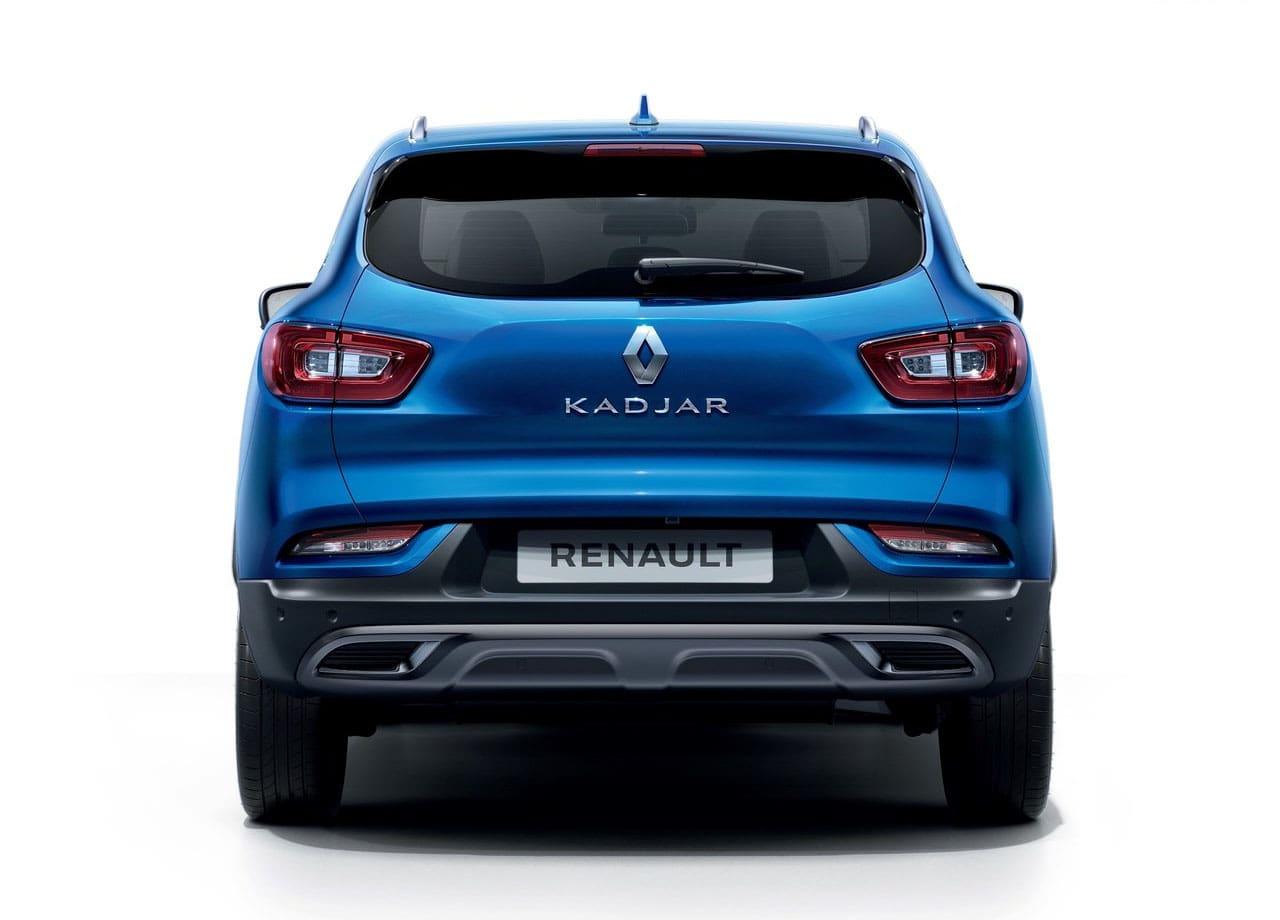 Renault Kadjar задний бампер