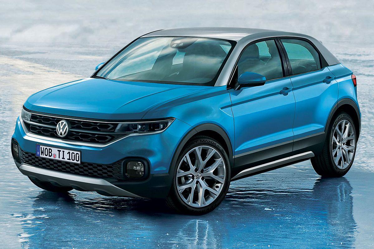 Volkswagen T-Cross фото спереди