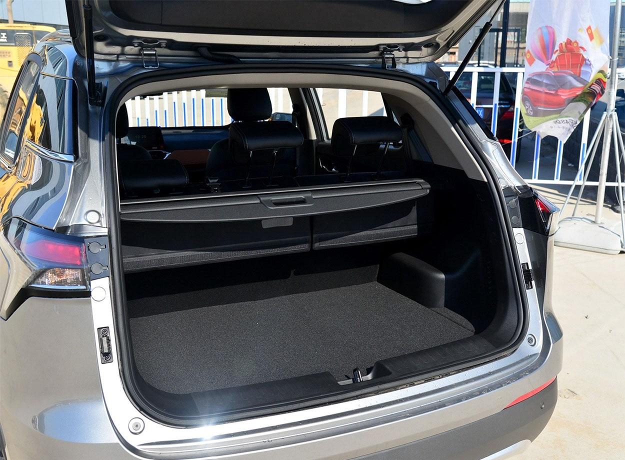 Baojun 510 багажник